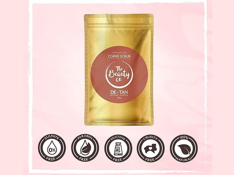 The Beauty Co. De-tan Coffee Face & Body Scrub