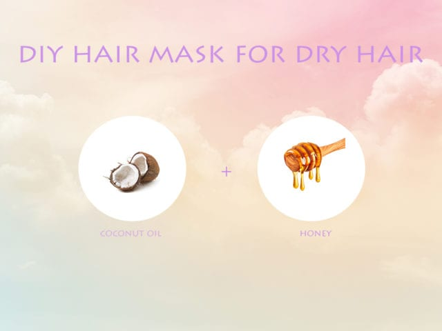 Coconut Oil And Honey Hair Mask For Dry Hair