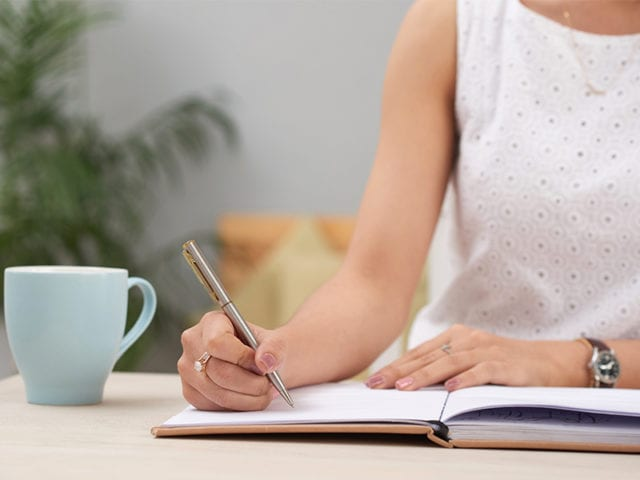 Write Down Your Anxious And Depressed Thoughts