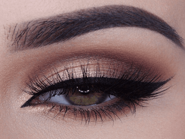 Brown Smokey Eye Makeup Look