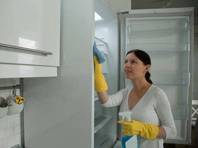 Clean The External Surface Of Refrigerator