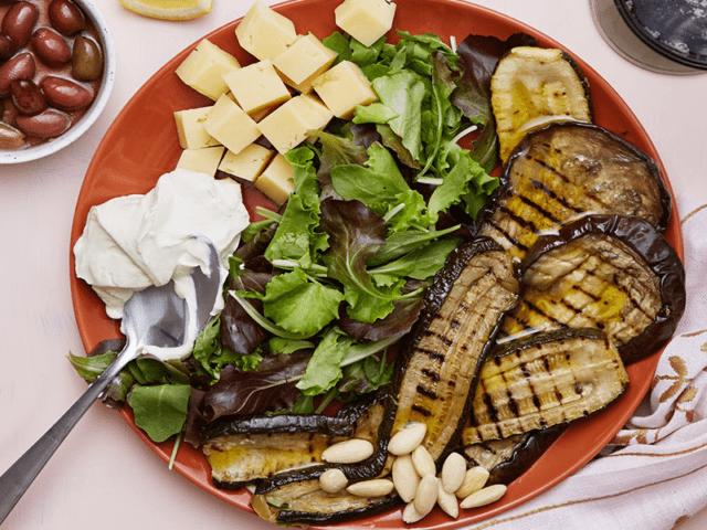 Keto Friendly Grilled Vegan Veggie Plate
