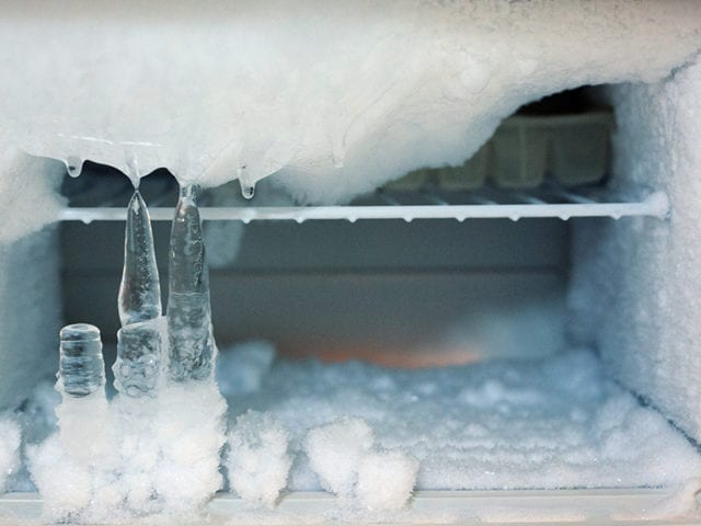 Clean The Freezer