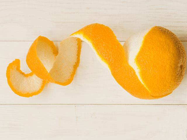 Orange Juice And Peel For Dark Underarms