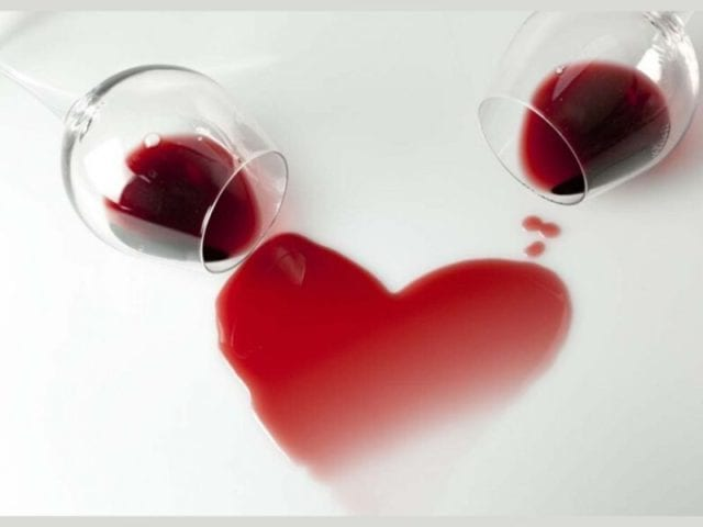 Drinking Wine Improves Heart Health