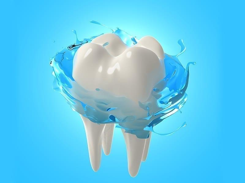 Mouthwash To Remove Debris