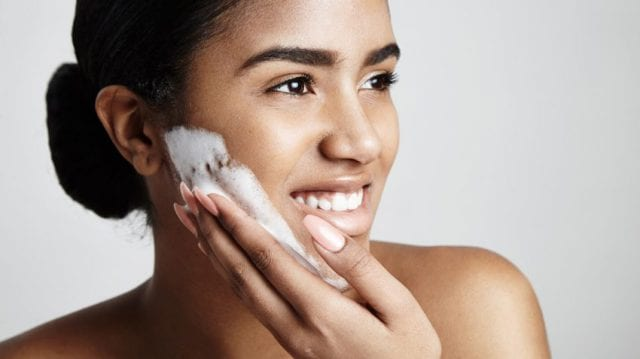 Cleansing The Skin At Night