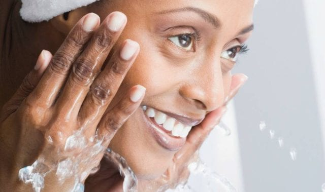 Cleansing The Skin During The Day