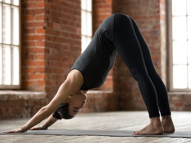 Adho Mukha Svanasana To Regulate Periods