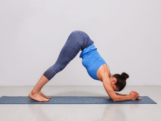 Ardha Pincha Mayurasana For Irregular Periods