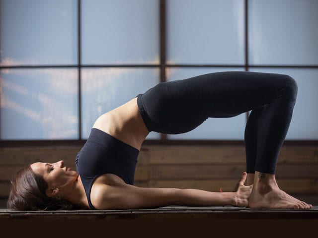 Bridge Pose To Regulate Periods