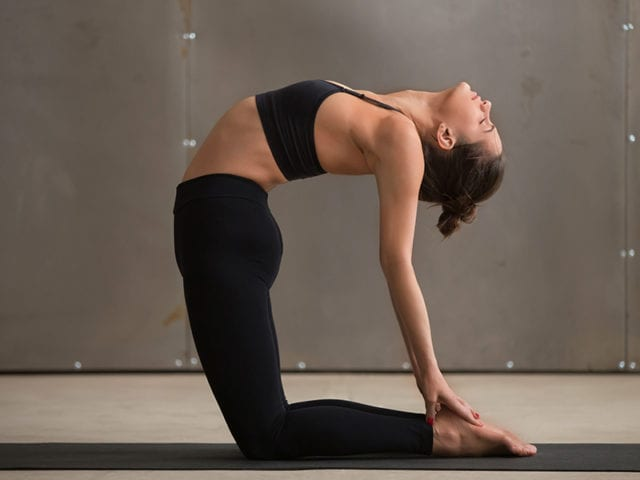 Ustrasana To Regulate Periods