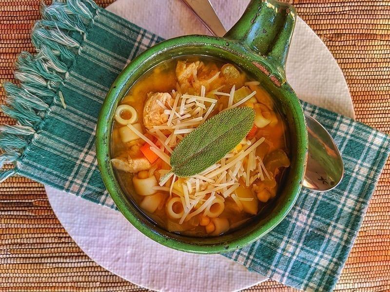 Chicken Thukpa Soup