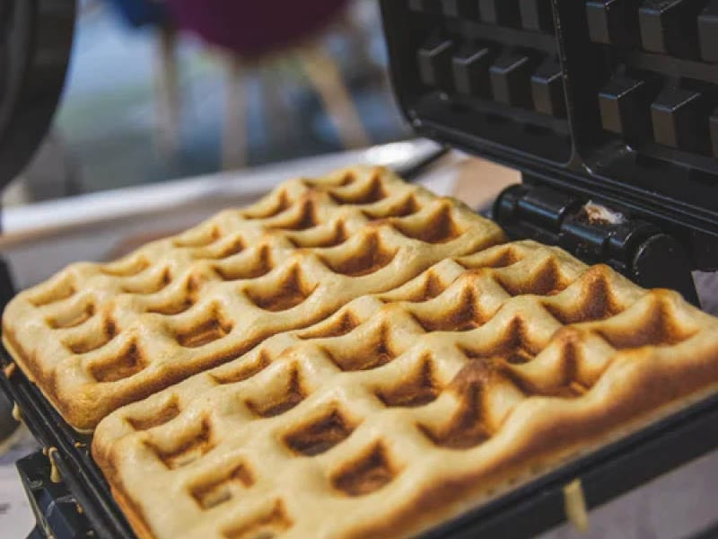 Keto Almond Waffle Recipe