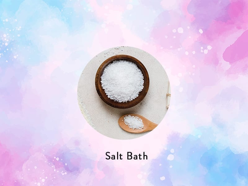 Salt Bath To Grow Nails Naturally