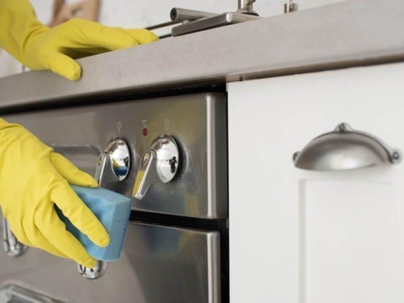 Sanitization Of Kitchen