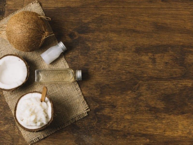 Coconut Oil Mask For Nail Splitting