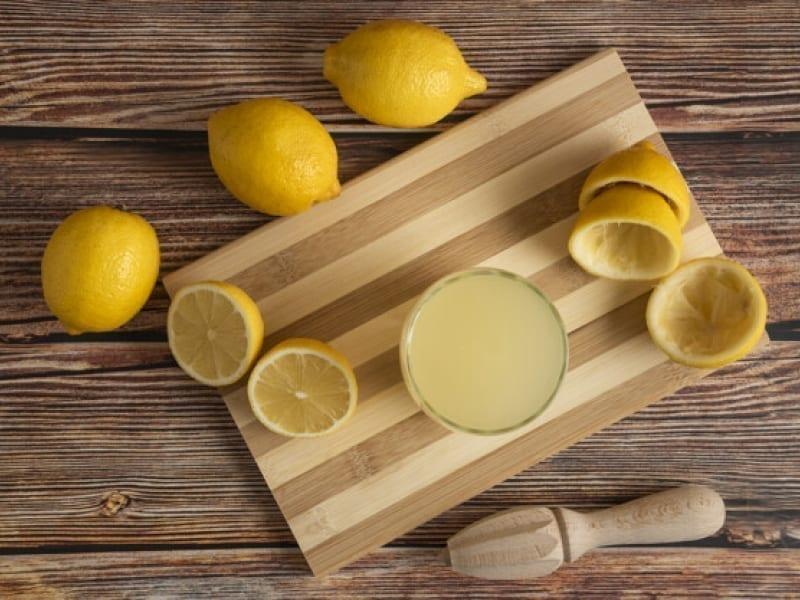 Lemon Juice Soak To Grow Stronger Nails